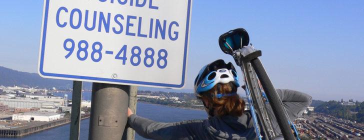 Fremont Bridge Bridgepedal 2006 - Suicide Counseling