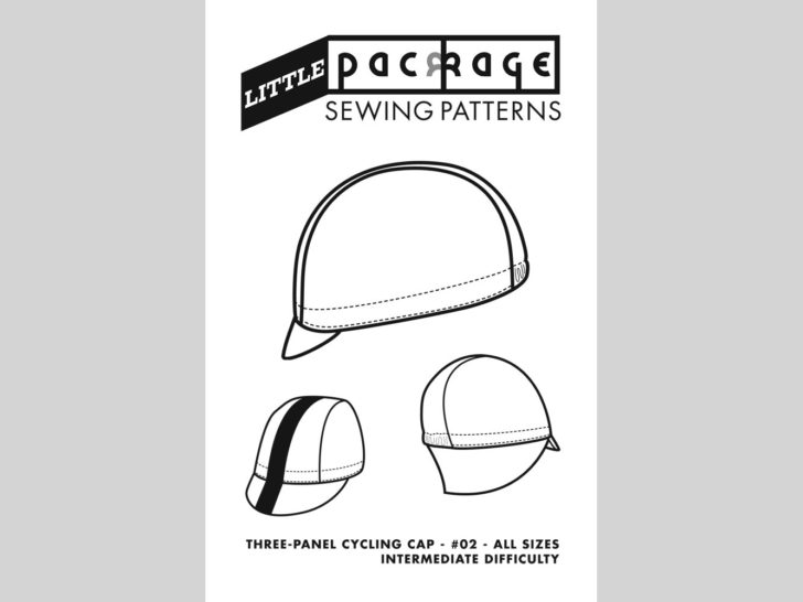 Three Panel Cycling Cap Sewing Pattern - Cover
