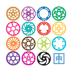 Chainrings with Color