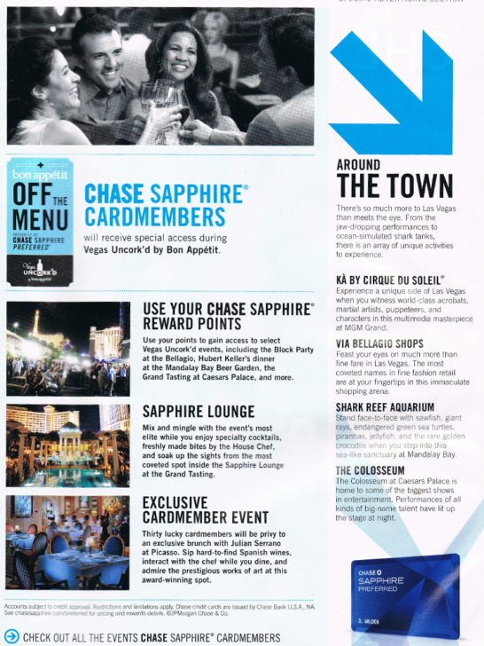 Chase Sapphire Ad