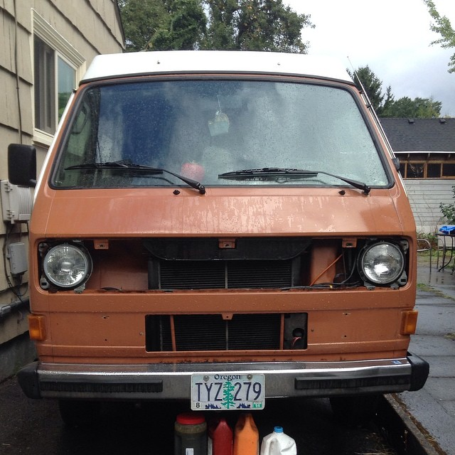 westfalia without front grille