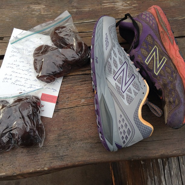 old and new New Balance leadville