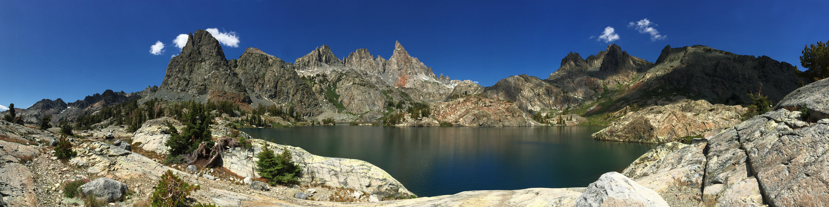Minaret Lake Panorama