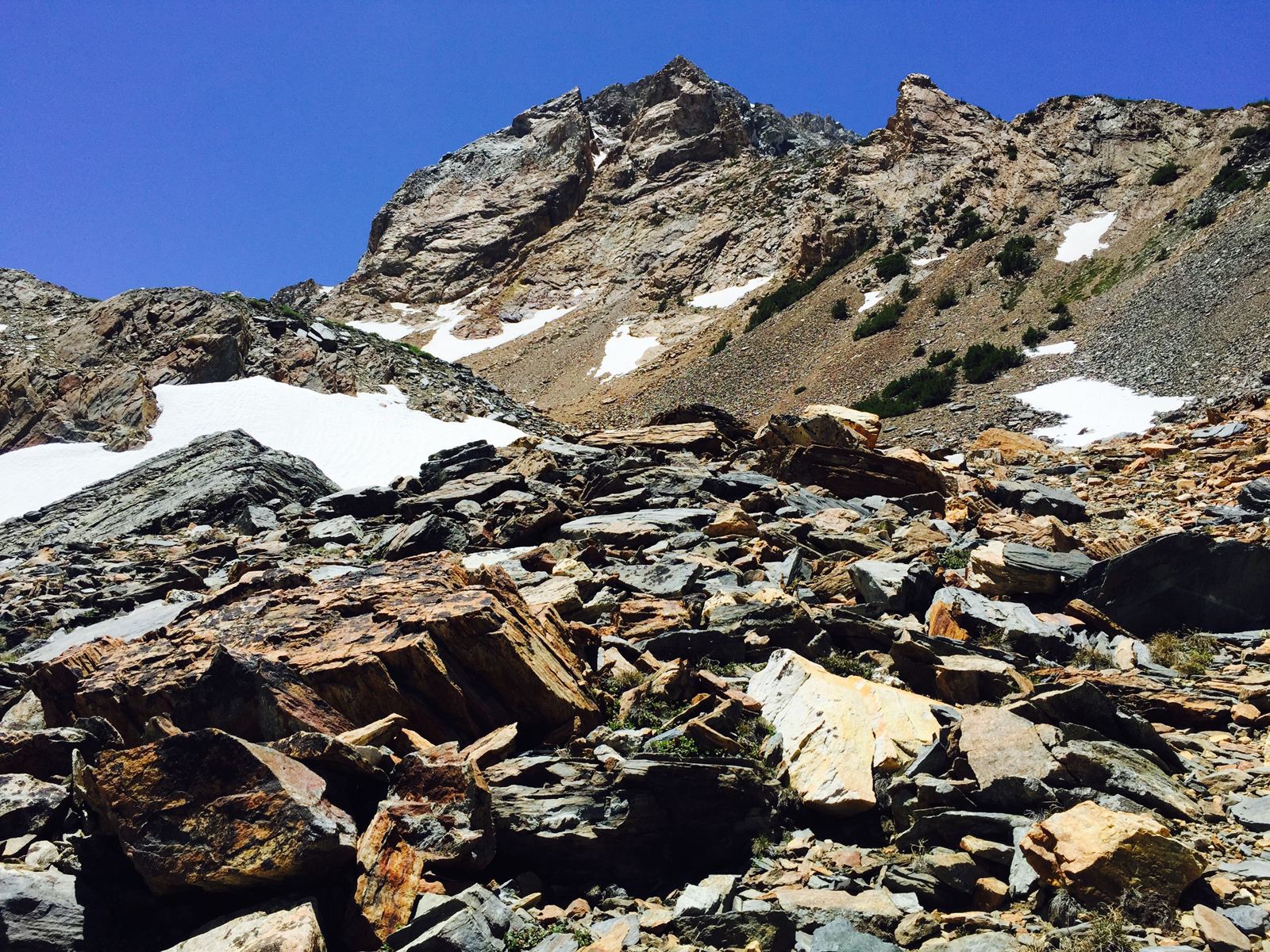 horse creek pass talus matterhorn