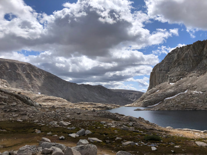 High Sierra glacial basin