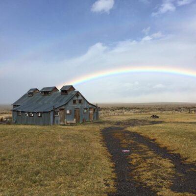 Dry Lake Rainbow