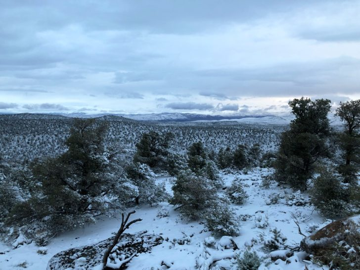 snow in great basin