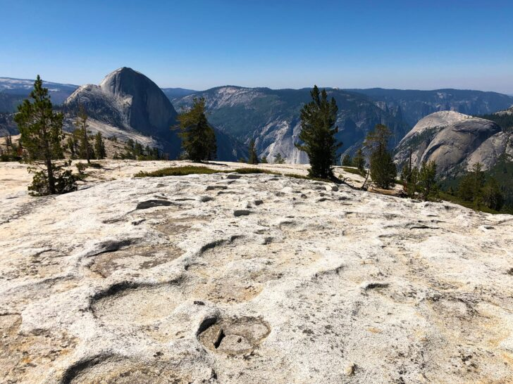 View of Half Dome from the North