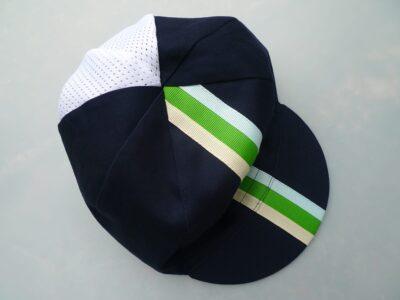 Mesh back ribbon cap