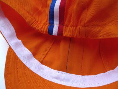 Inside of Dutch Pride Cycling Cap